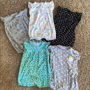 24 Month Rompers - Set of 5